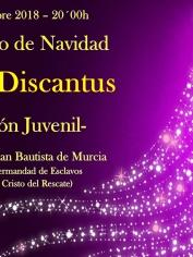 CONCIERTO DE NAVIDAD – 15 diciembre 2018 – 20´00h – SECC. JUVENIL CORAL DISCANTUS