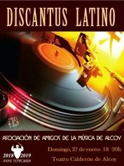 Discantus Latino – Teatro Calderón(Alcoy) – 27 enero 2019