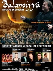 """Musical """"Balansiyaá"""" – viernes 22 de marzo en Teatro Principal de Cocentaina"""
