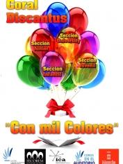 Presentación del Disco «Con Mil Colores» – Martes 4 de junio- 20´00h -Auditorio Victor Villegas