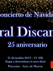 sábado 21 de diciembre – Concierto de Navidad en Murcia – 20´00h