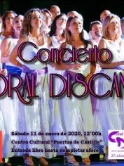 Concierto Fiestas San Antón – Centro Cultural «Puertas de Castilla» de Murcia – sábado 11 de enero 2020