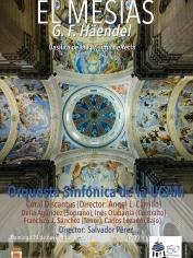 «El Mesías» (G.F.Haendel) – Domingo 24 noviembre – 19´00h – Basílica de la Purísima (Yecla)