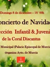 Concierto Villancicos Sección  Infantil& Juvenil – Domingo 8 diciembre – 18´00h – Belén Municipal
