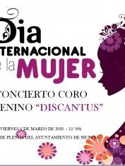 CONCIERTO DÍA INTERNACIONAL DE LA MUJER – CORO FEMENINO «DISCANTUS»