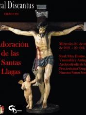 Adoración Santas Llagas – miércoles 24 de marzo – 20´00h  Iglesia de Ntra.Sra. de El Carmen